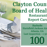 Board of Health- January Restaurant Report Cards