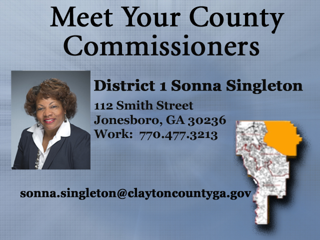 District 1- Sonna Singleton