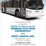 MARTA to Clayton County Ribbon Cutting: March 14, 2015
