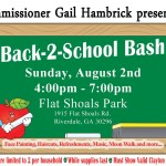 Commissioner Hambrick Presents: Back-2-School Bash