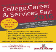 Next Step Education Foundation College Fair