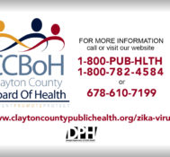 Clayton County Board of Health Zika Virus Awareness PSA