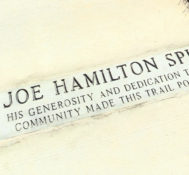 Joe Hamilton Recreation Trail Dedication