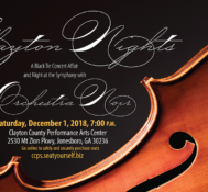 CCPS Presents Clayton Nights: A Black Tie Concert Affair Featuring Orchestra Noir