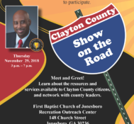 Clayton County: Show on the Road November 2018