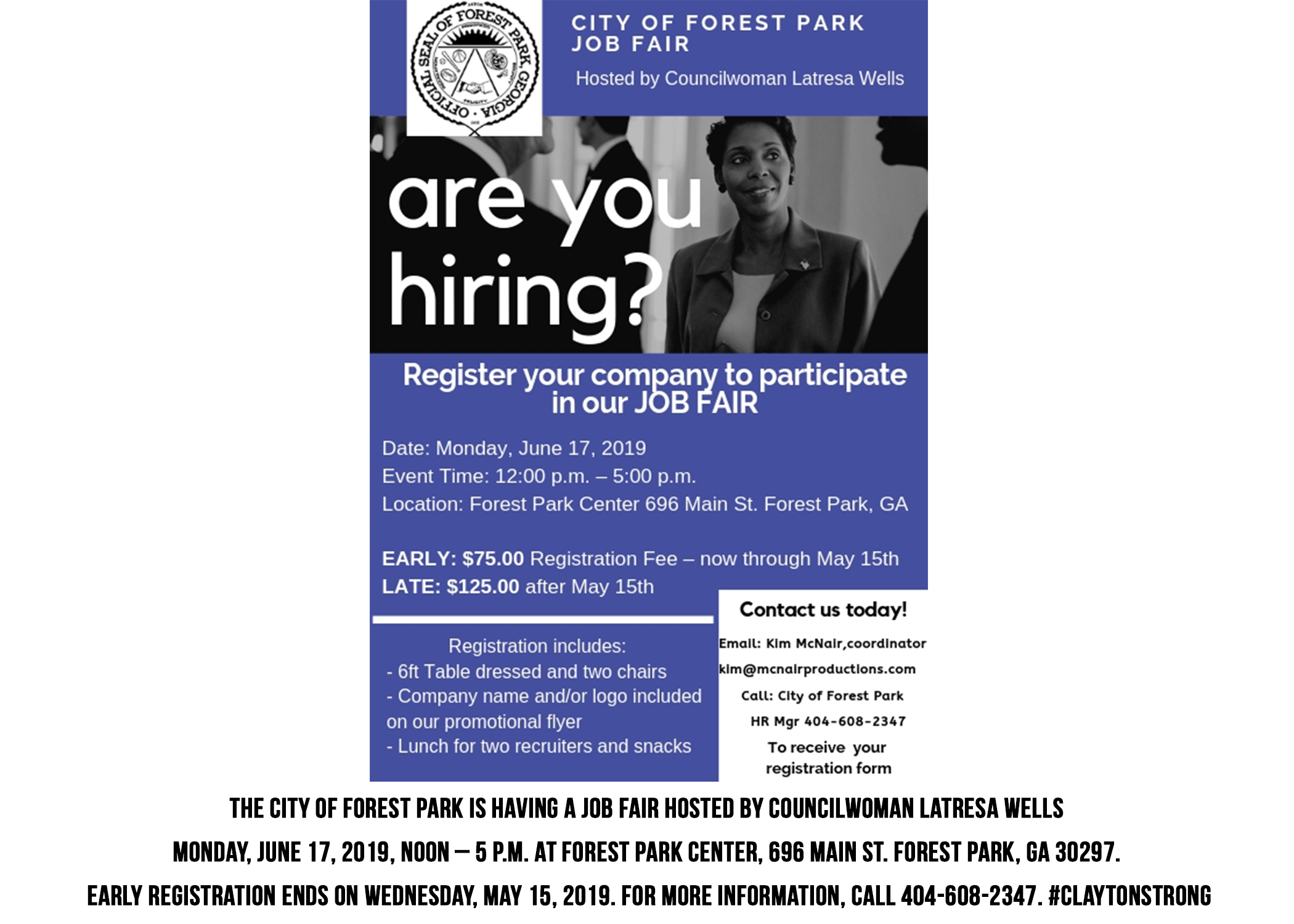 ForestParkJobFair