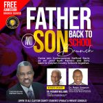 Clayton County: District 4 Commissioner DeMont Davis Presents Father and Son Back to School Brunch