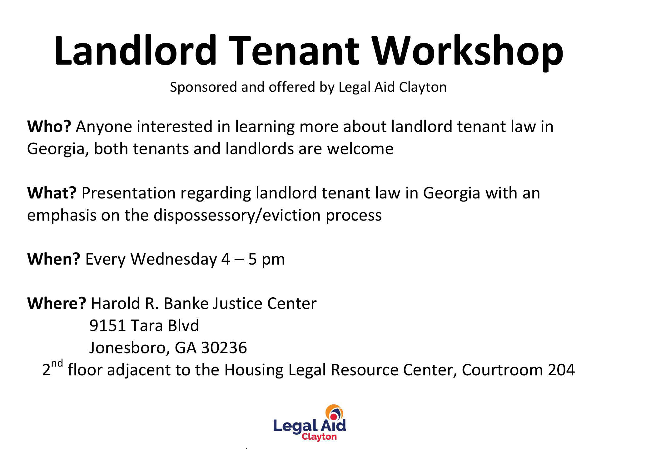 LandlordWorkshop