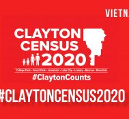 Census 2020: Clayton Counts Vietnamese