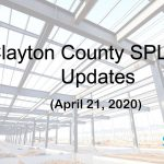 Clayton County SPLOST Updates April 21, 2020