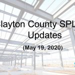 Clayton County SPLOST Updates May 19, 2020