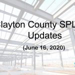 Clayton County SPLOST Updates June 16, 2020
