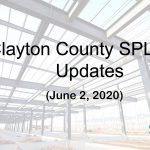 Clayton County SPLOST Updates June 2, 2020