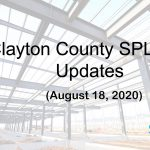 Clayton County SPLOST Updates August 18th, 2020