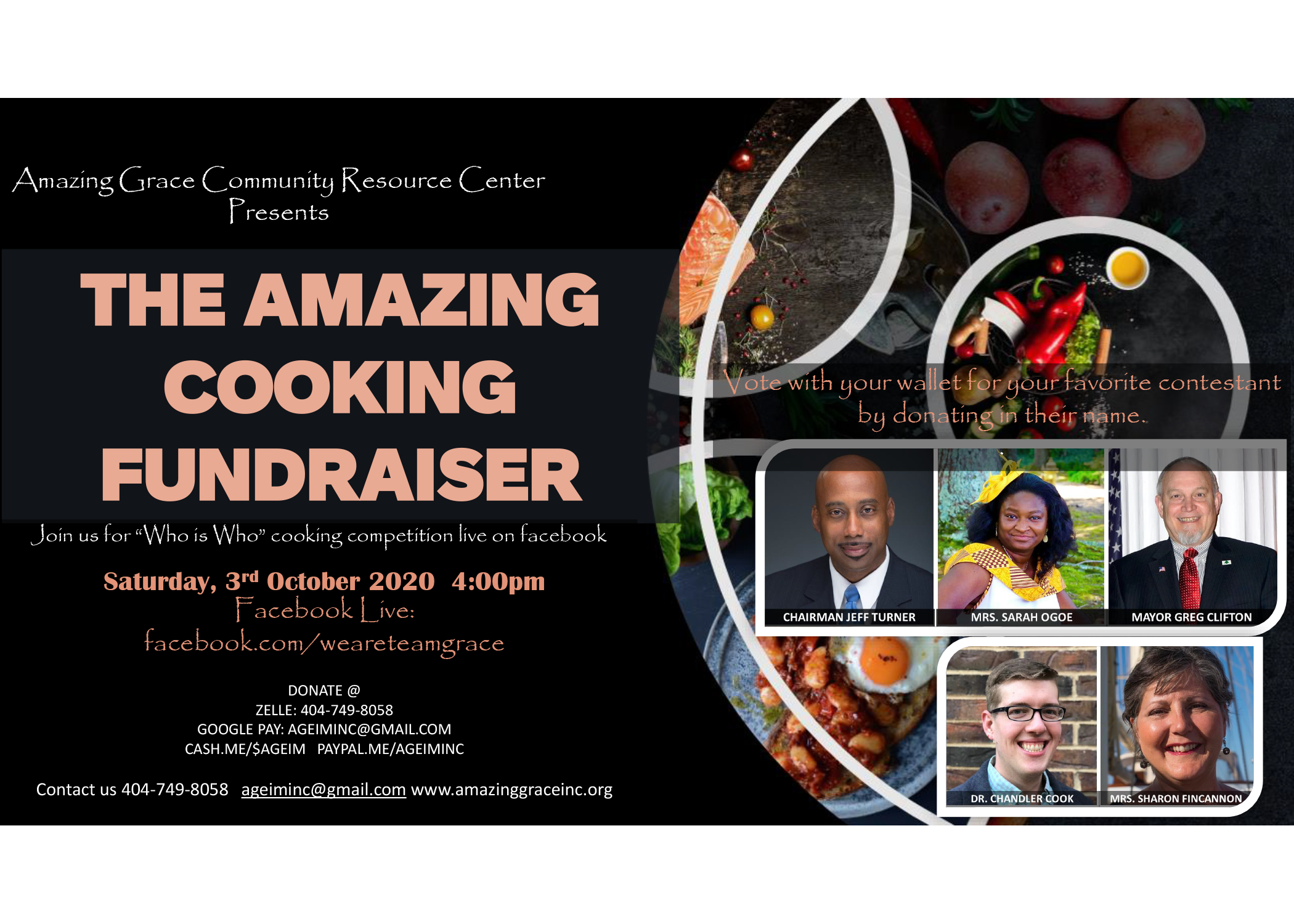 Cooking Fundraiser