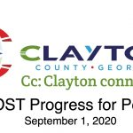 Clayton County SPLOST Updates September, 1 2020