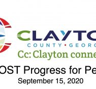Clayton County SPLOST Updates September, 15 2020