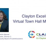 Clayton Excels Virtual Town Hall Meeting October 1, 2020