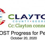 Clayton County SPLOST Updates October 20, 2020
