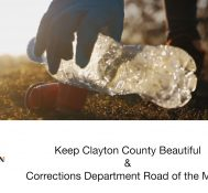 Keep Clayton County Beautiful & Road of the Month-October 2020