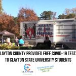 Clayton County Provided Free COVID-19 Tests To Clayton State Univ. Students