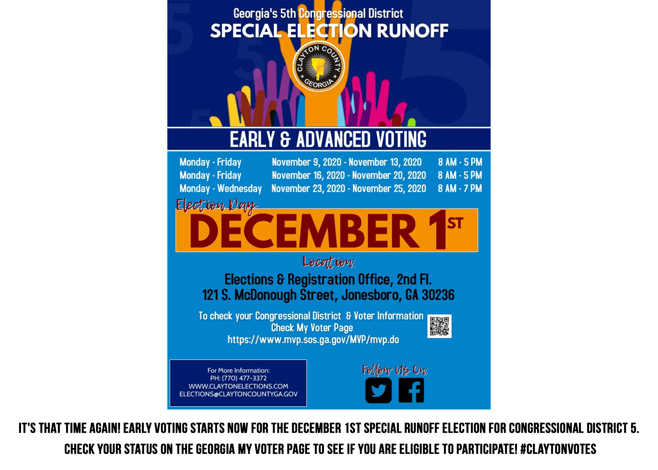 Early Voting Runoff