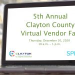 Clayton County: 5th Annual Virtual Vendor Fair PSA
