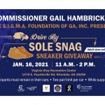 Clayton County: District 2 Commissioner Gail Hambrick Presents Drive By Sole Snag Sneaker Giveaway