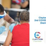 Clayton County: Clayton Cares  2nd COVID-19 Vaccine Distribution