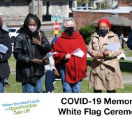 Clayton County: COVID-19 Memorial White Flag Ceremony