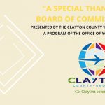 Clayton County: Youth Commission Thanks Clayton County Board of Commissioners!
