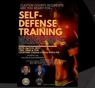 Clayton County: Self Defense Training with District Attorney Tasha Mosley and Chief Kevin Roberts