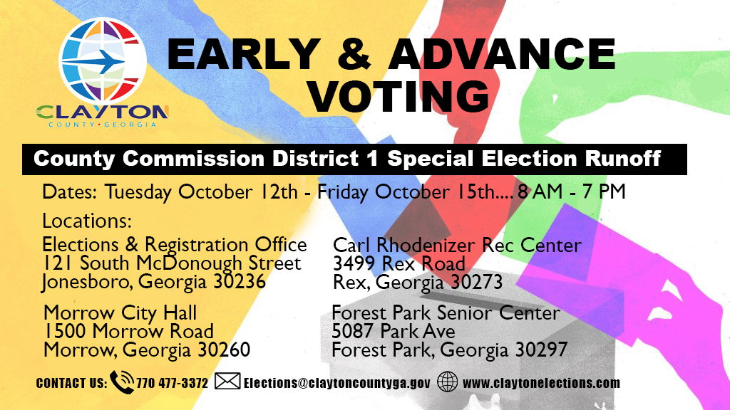 2021 AV County Commission District 1 Election Information